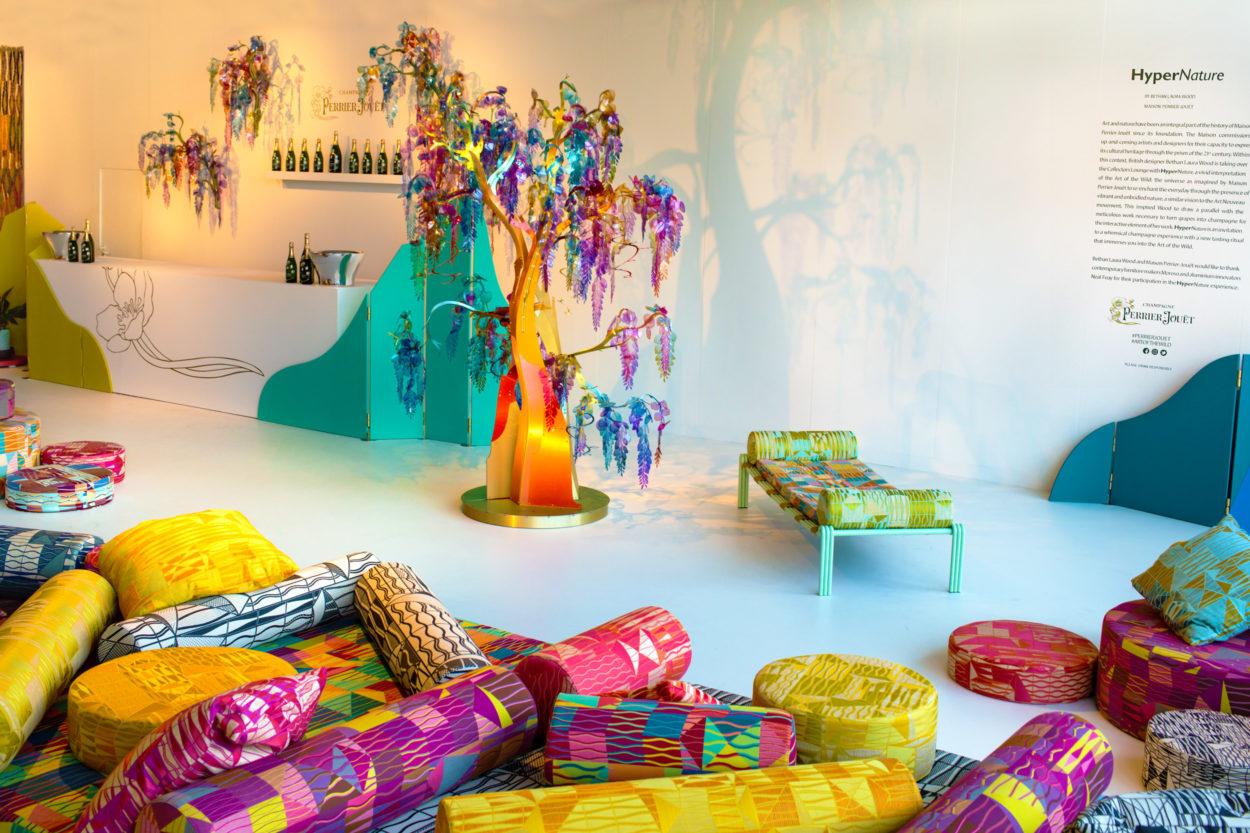 HyperNature  Landscape – Perrier Jouët Collector Lounge for Design Miami